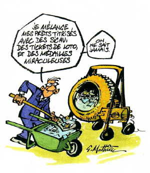 Dessin de Gérard Mathieu (http://www.alternatives-economiques.fr/)